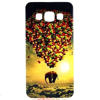 Para Samsung Galaxy Capinhas Case Tampa Estampada Capa Traseira Capinha Balão PUT para Samsung Galaxy A3