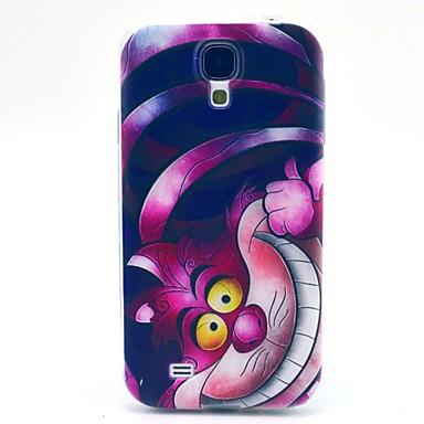 Para Samsung Galaxy Capinhas Estampada Capinha Capa Traseira Capinha Gato TPU Samsung S4 Mini
