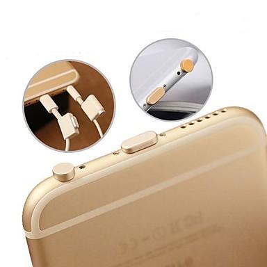 kulaklık girişi& şarj bağlantı noktası anti-toz fiş iphone 6 / iphone 6 artı / ipad Air2 / ipad MINI3 için belirlenen