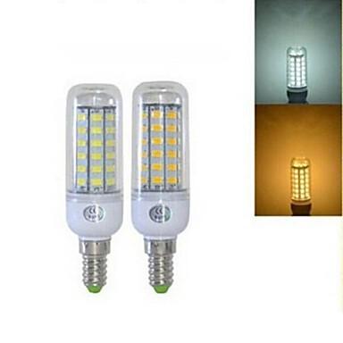 5W E14 LED-maïslampen T 56 leds SMD 5730 Warm wit Koel wit 450lm 2800-3200/6000-6500K AC 220-240V