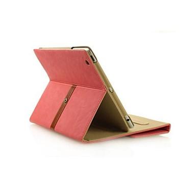 tok Για iPad Air με βάση στήριξης Αυτόματη αδράνεια / αφύπνιση Πλήρης Θήκη Συμπαγές Χρώμα Υφασμα για iPad Air