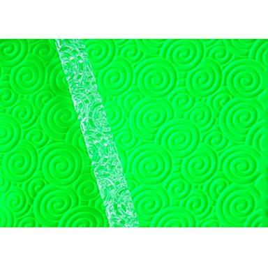 four-c decoreren gereedschappen cirkelvormige ring deegrol voor taart maken, fondant getextureerde deegroller decoratie patroon roller