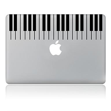 de piano ontwerp decoratieve huid sticker voor macbook air / pro / pro met retina-display
