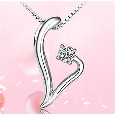 Kettingen Hangertjes ketting Sieraden Feest / Dagelijks / Causaal Sterling zilver Zilver 1 stuks Geschenk
