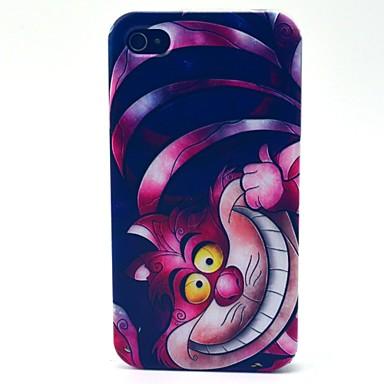 iPhone 4/4S/iPhone 4 - Кейс на заднюю панель - Графика/Разные цвета/Мультяшная тематика/Особый дизайн/Другое/Оригинальный/Аниме (
