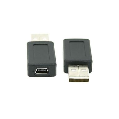 USB 2.0 αρσενικό σε Mini USB 2.0 θηλυκό προσαρμογέα μετατροπέα