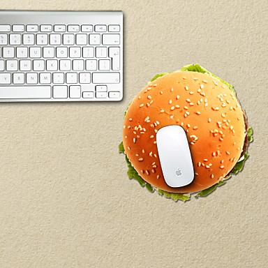 το σχεδιασμό χάμπουργκερ διακοσμητικό μαξιλάρι ποντικιού mac αξεσουάρ δέρματος αξεσουάρ mac