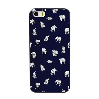 υπέροχο μικρό ελέφαντα PC σχεδιασμού σκληρή θήκη για το iPhone 4 / 4s