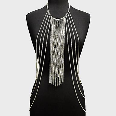 Body Chain / Belly Chain - Dames Goud Zilver Uniek ontwerp Modieus Anderen Lichaamssieraden Voor Feest