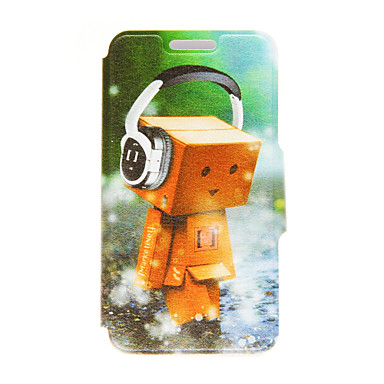 tok Για Huawei Honor 4X Huawei Θήκη Huawei Θήκη καρτών με βάση στήριξης Ανοιγόμενη Πλήρης Θήκη Κινούμενα σχέδια Σκληρή PU δέρμα για