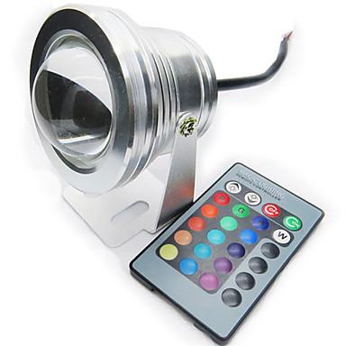 1pc 10 W 200-250 lm LED Spot Işıkları 1 LED Boncuklar Su Geçirmez 12 V