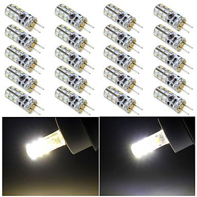 G4 LED Φώτα με 2 pin 24 leds SMD 3014 Θερμό Λευκό Ψυχρό Λευκό 120lm 2800-3500/6000-6500K DC 12V