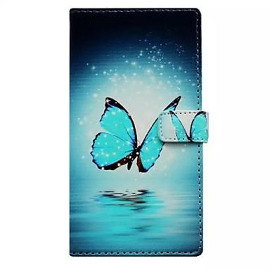 tok Για Samsung Galaxy Samsung Galaxy Θήκη Θήκη καρτών Πορτοφόλι με βάση στήριξης Ανοιγόμενη Πλήρης Θήκη Πεταλούδα PU δέρμα για S8 Plus