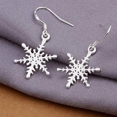 Dames Druppel oorbellen - Sterling zilver Zilver Voor Bruiloft / Feest / Dagelijks
