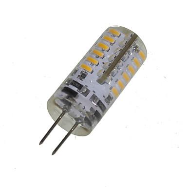 2W 150-200 lm G4 Lâmpadas Espiga T 48 leds SMD 3014 Decorativa Branco Quente AC 12V DC 12V