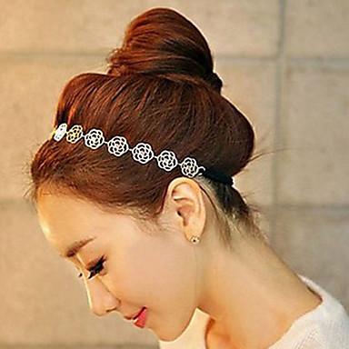 legering hol rose hoofdband huwelijksfeest elegante vrouwelijke stijl
