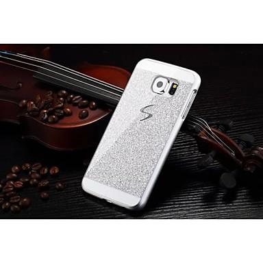 Voor Samsung Galaxy hoesje Patroon hoesje Achterkantje hoesje Glitterglans PC Samsung S6 edge
