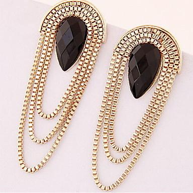 Γυναικεία Κρεμαστά Σκουλαρίκια Θύσανος Κοσμήματα με στυλ Μοντέρνα Ρητίνη Κράμα Κρεμαστό Κοσμήματα Χρυσό Κοστούμια Κοσμήματα