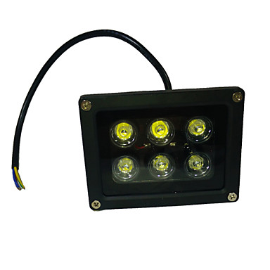 660 lm LED-schijnwerperlampen Roteerbaar 6 leds Krachtige LED UV (blacklight) AC 85-265V