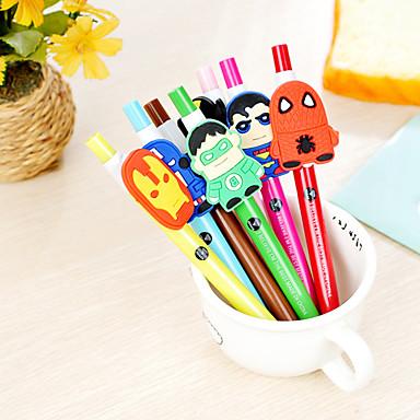 Pen Pen Gel Pennen Pen, Muovi Zwart Inktkleuren For Schoolspullen Kantoor artikelen Pakje