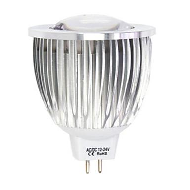 4.5W LED-spotlampen MR16 1LED leds COB Warm wit Koel wit 450-480lm 2800-3500/6000-6500K DC 12 AC 12V