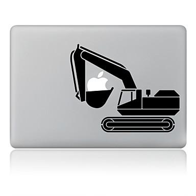 1 parça Çıkartma için Çizilmeye Dayanıklı Oynanan Apple Logosu Tema MacBook Air 13''