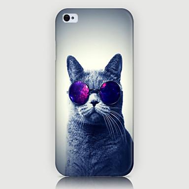 fashion kat patroon telefoon achterkant van de behuizing dekking voor iphone5c
