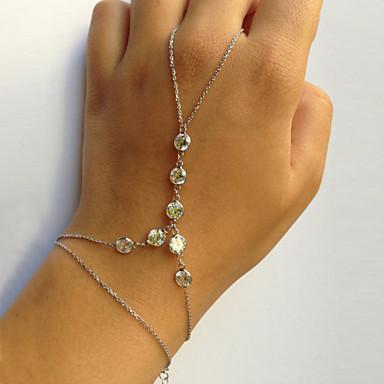 Δαχτυλίδια με Βραχιόλι - Μοναδικό Μοντέρνα Άλλα Χρυσό Ασημί Βραχιόλια Για Πάρτι Δώρο Βαλεντίνος