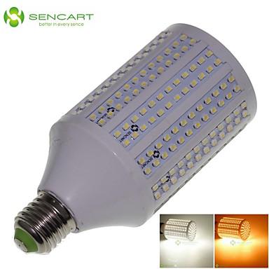 25W E26/E27 LED-maïslampen T 348 SMD 3528 2200-2400 lm Warm wit / Koel wit Decoratief AC 85-265 V 1 stuks