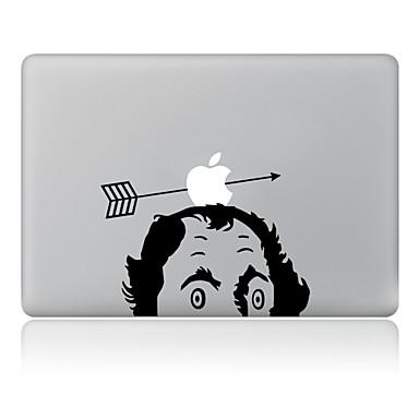 1 db Tok matrica mert Karcolásvédő Apple logo Minta PVC MacBook Pro 15'' with Retina MacBook Pro 15 '' MacBook Pro 13'' with Retina