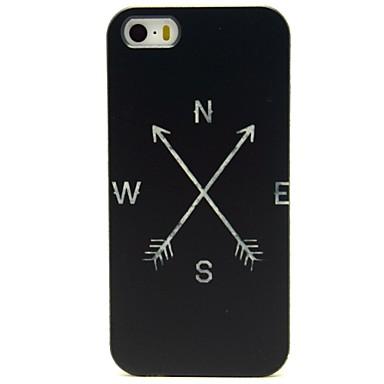 Voor iPhone 8 iPhone 8 Plus iPhone 7 iPhone 7 Plus iPhone 6 iPhone 6 Plus iPhone 5 hoesje Hoesje cover Patroon Achterkantje hoesje Zwart