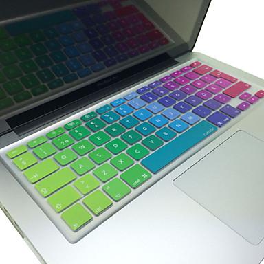 "billige Tastaturdækkener til Mac-coosbo® swedish farverige silikone tastatur cover skin eu layout for 13 ""/ 15"" / 17 "" macbook air pro / retina / imac G6"