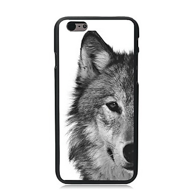 hoesje Voor Apple iPhone 6 iPhone 6 Plus Patroon Achterkant dier Hard PC voor iPhone 6s Plus iPhone 6s iPhone 6 Plus iPhone 6