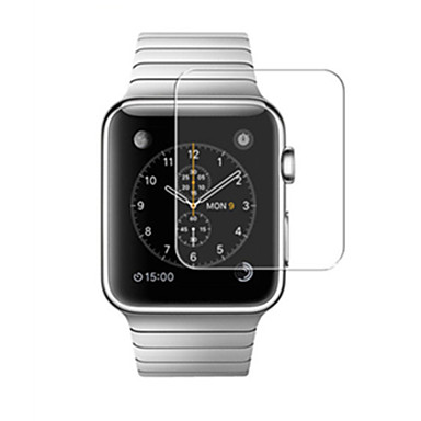2 stuks 38 mm diamant schijnt screen protector met anti-bubble& anti-vingerafdruk voor apple horloge (0,3 mm)