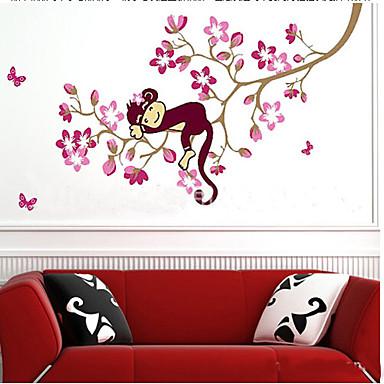 macaco dos desenhos animados PVC autocolante
