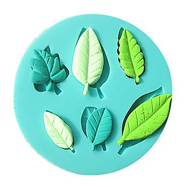 folha moldes do bolo de chocolate do molde para a ferramenta de decoração do bolo açúcar cozinha artigo de forno