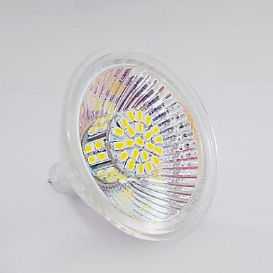 GU5.3 (MR16) LED-spotlampen MR16 50 leds SMD 3020 Warm wit Natuurlijk wit 120-150lm 2800-3300                6000-6500K DC 12V