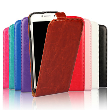 Voor Samsung Galaxy hoesje Flip hoesje Volledige behuizing hoesje Effen kleur PU-leer Samsung S6