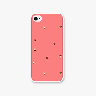 Για Θήκη iPhone 5 Με σχέδια tok Πίσω Κάλυμμα tok Καρδιά Σκληρή PC iPhone SE/5s/5