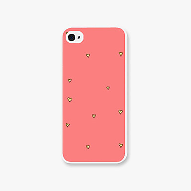 tok Για iPhone 5 Θήκη iPhone 5 Με σχέδια Πίσω Κάλυμμα Καρδιά Σκληρή PC για iPhone SE / 5s iPhone 5