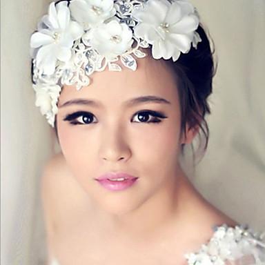 kristal bloem haar bloem bruid haar bruiloft hoofdtooi elegante stijl