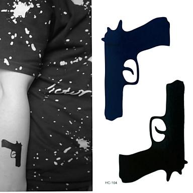 Outros Tatuagem Adesiva - Non Toxic/Estampado/Lombar/Waterproof - para Criança/Feminino/Girl/Masculino/Adulto/Boy/Adolescente - de Papel -