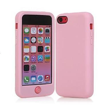 smarties meio pacote de cor da fruta telefone silicone macio para iphone 5c (cores sortidas)