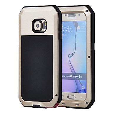 Case For Samsung Galaxy Samsung Galaxy Case Waterproof / Shockproof / Dustproof Full Body Cases Armor Hard Metal for S6 / S5 / S4