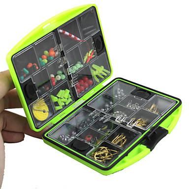 Κουτιά για Σύνεργα Ψαρέματος Κουτί Δολώματος Αδιάβροχη Πλαστική ύλη Μεταλλικό 11.5 2.5