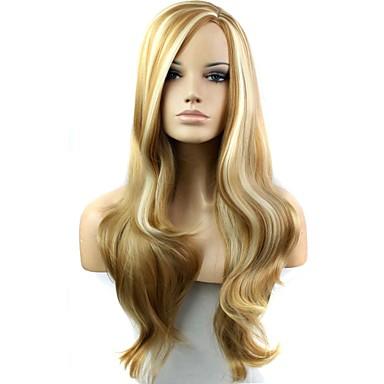 Περούκες Φυσικό Κυματιστό Καρναβάλι περούκα Απόκριες Περούκα μαύρο Περούκα Μακρύ F27-613 # Καθημερινά