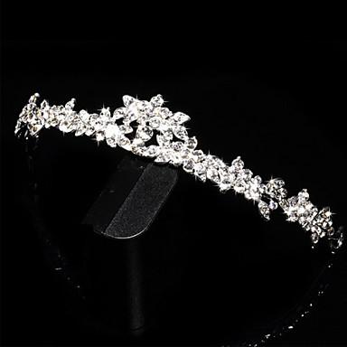 Γυναικείο Ρητίνη Headpiece-Γάμος Ειδική Περίσταση Τιάρες 1 Τεμάχιο