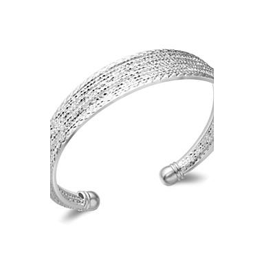 Dames Armbanden met ketting en sluiting Verzilverd Zilver Sieraden Voor Bruiloft Feest Dagelijks Causaal 1 stuks
