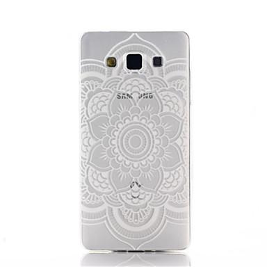 hoesje Voor Samsung Galaxy Samsung Galaxy hoesje Transparant Patroon Achterkant Mandala Speciaal ontwerp Bekende merken stijl Transparant