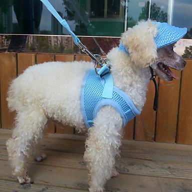 Gato Cachorro Peitorais Roupas para Cães Esportes Sólido Preto Laranja Vermelho Azul Rosa claro